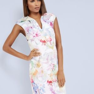 """Ted Baker """"Hanging Gardens"""" Bodycon Dress"""